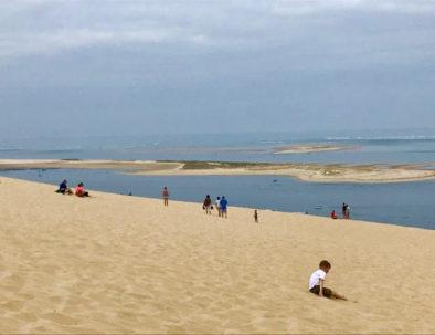 vue du Banc d'Arguin depuis la Dune