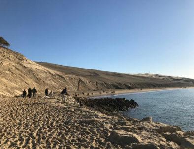 au pied de la Dune du Pilat
