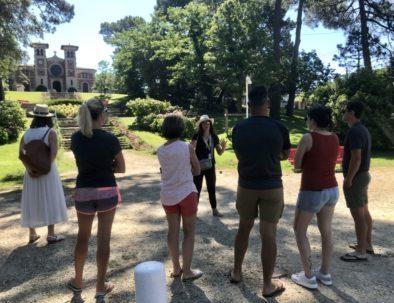 visite du Moulleau en été