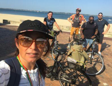 visite en vélo Péreire