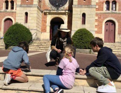 visite famille/enfants au Moulleau