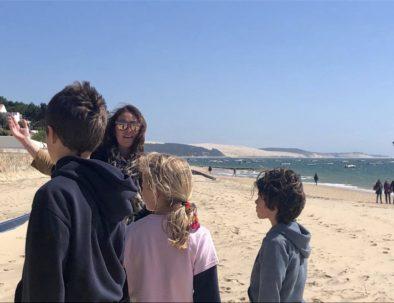 visite du Moulleau spéciale Famille/enfants