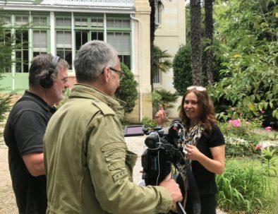 "en tournage reportage ""France 3"""